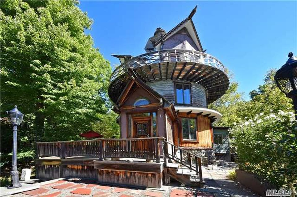 Trippy Tower House Hits Market In Woodstock Ny