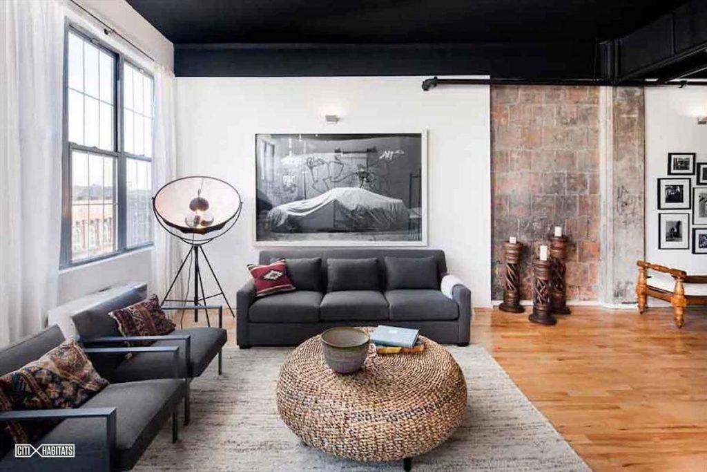 100 South 4th Street living room