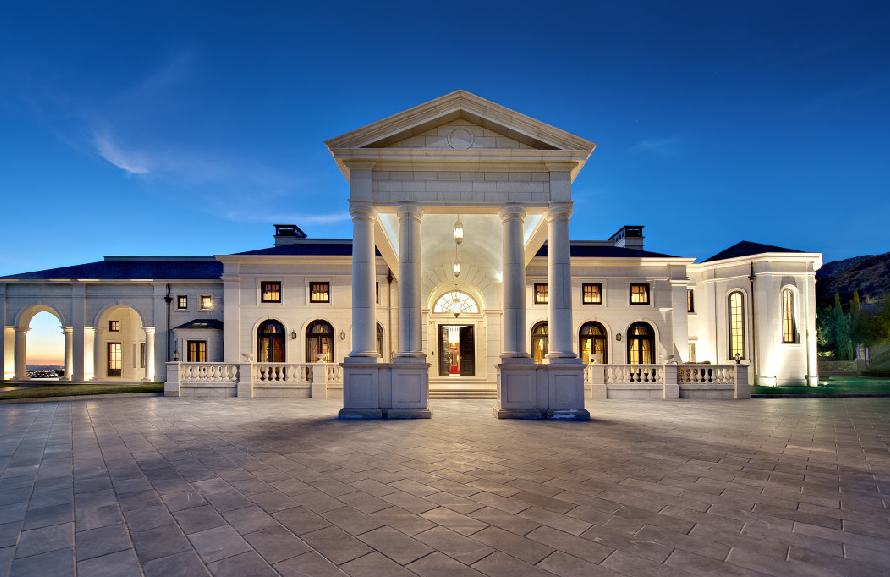 78 million dollar mega mansion hits market in california for Mega homes for sale