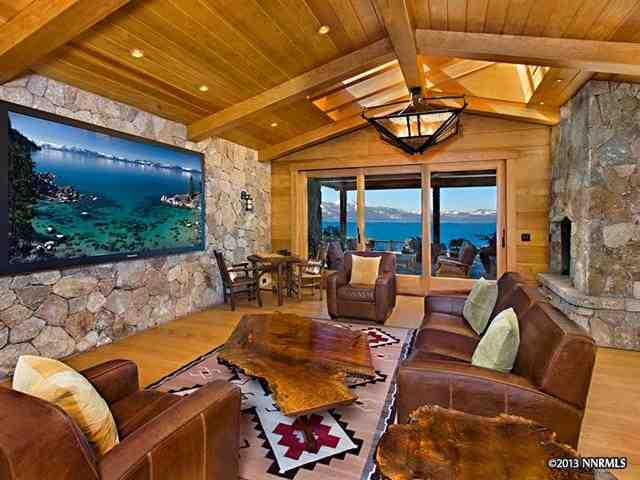 Larry Ellison Lists Ultra Luxurious Lakefront Lake Tahoe