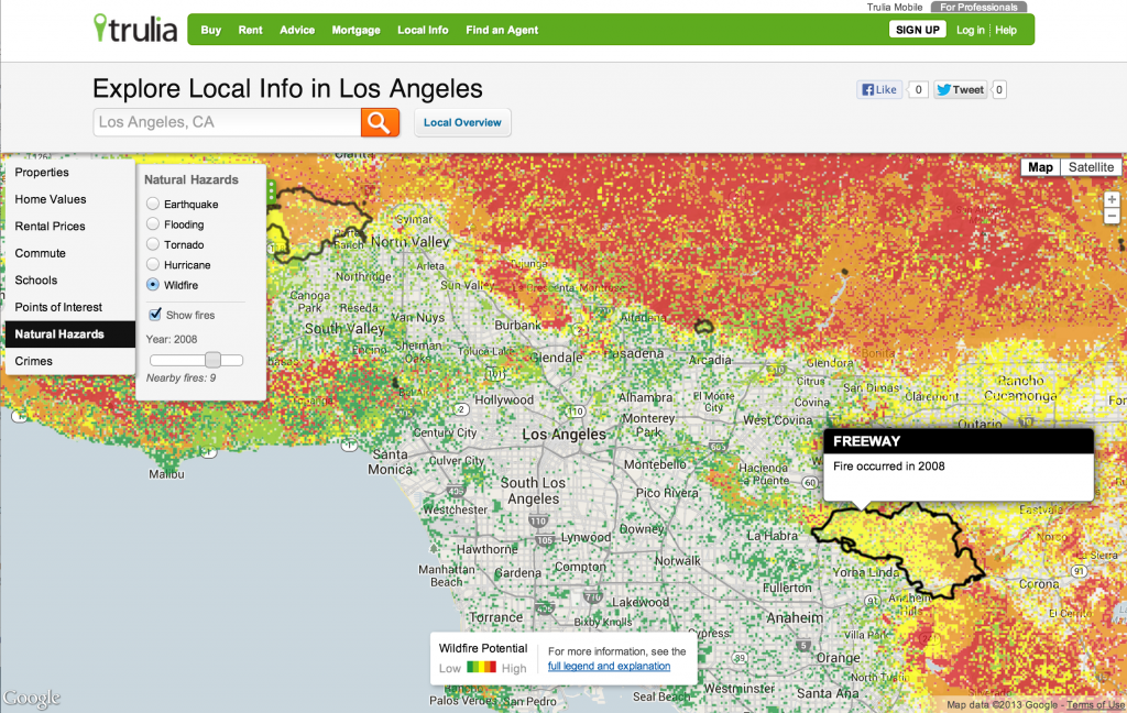 Natural Hazard Maps: The Why's and How's - Trulia's Blog on