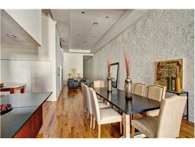 michael strahan relists tribeca nyc apartment for. Black Bedroom Furniture Sets. Home Design Ideas