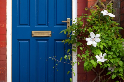 home avoiding curb appeal mistakes with blue door