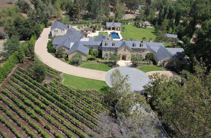 Kim And Kanye Snag Hidden Hills Estate