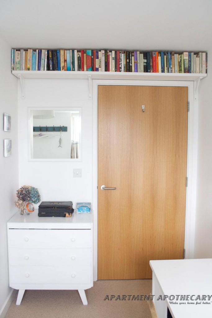15 świetnych pomysłów jak zaoszczędzić trochę miejsca w malutkim mieszkaniu