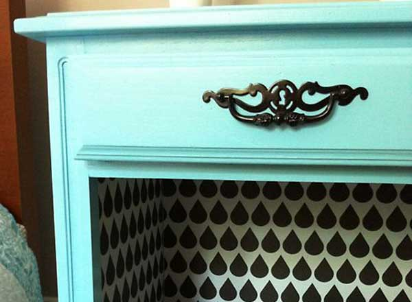 Feb2015-Trulia-Totally-Free-Home-Makeover-contact-paper-nightstand