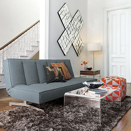 2 Clear Coffee Table