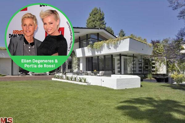 Celeb Flipping Houses Ellen Degeneres Portia De Rossi
