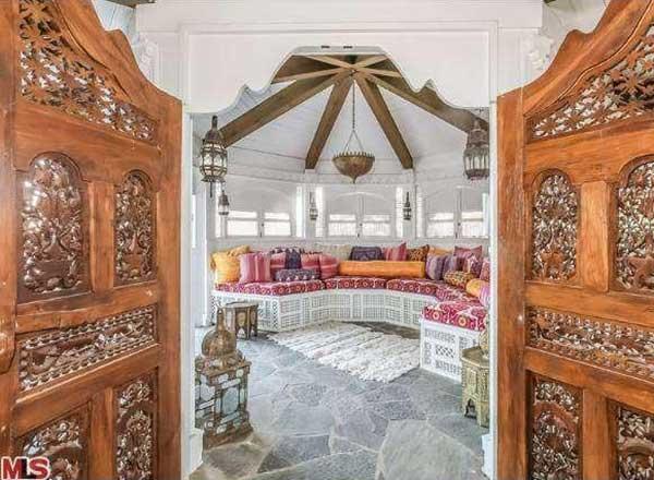 Mariah Carey Moroccan Room