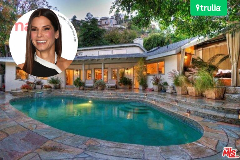 Sandra Bullock Lists Hollywood Hills Home For Rent FEATURE
