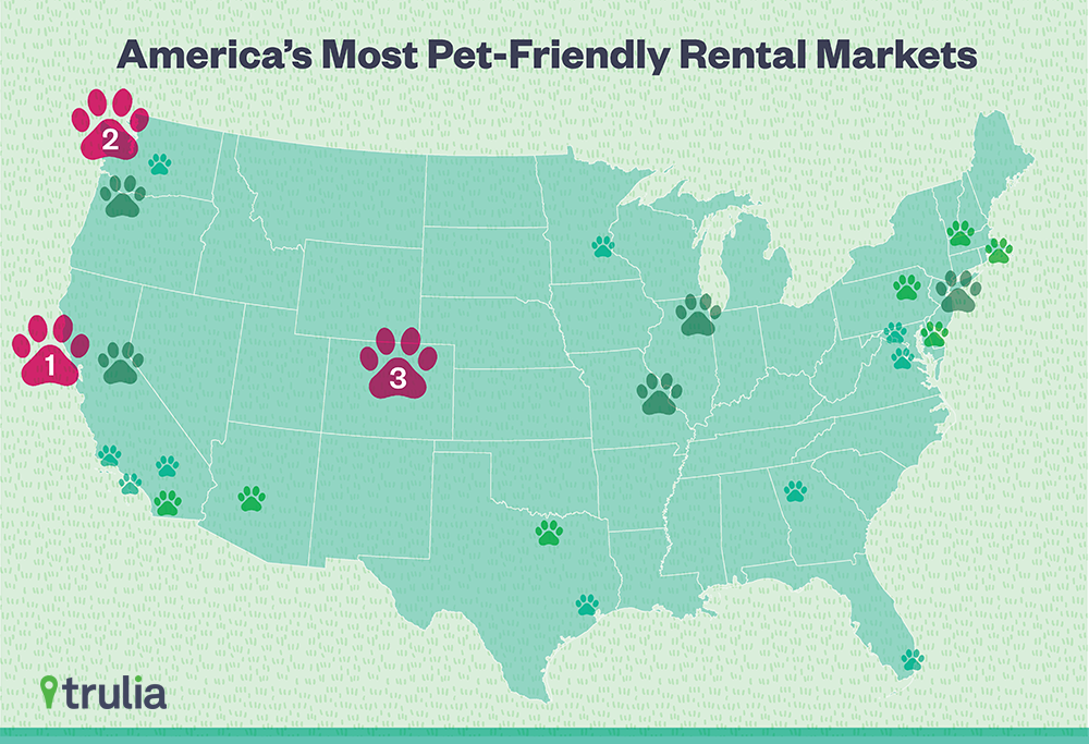 America\'s Most Paw-some Rental Markets for Pet Owners - Trulia Research