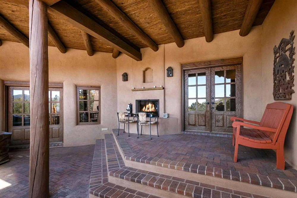 Found on Trulia: An Outdoorsy Retreat in New Mexico - Back Patio