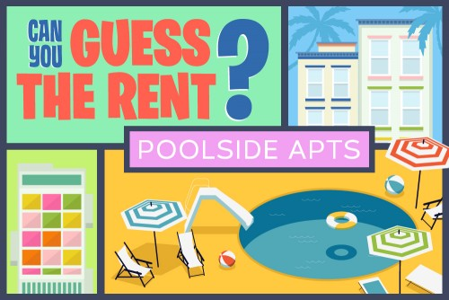 Guess the Rent Poolside Apartments