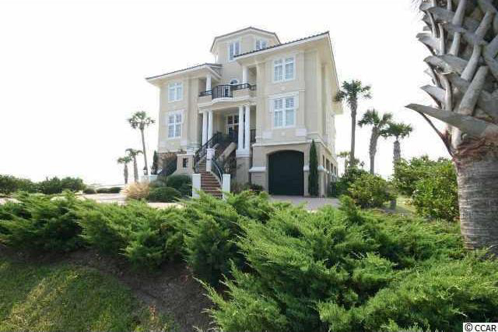Home for sale on North Ocean Boulevard, Myrtle Beach, SC