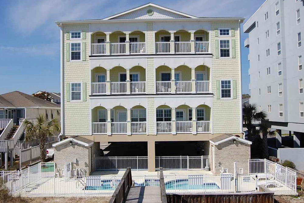 Home for sale on South Ocean Boulevard in Myrtle Beach, SC