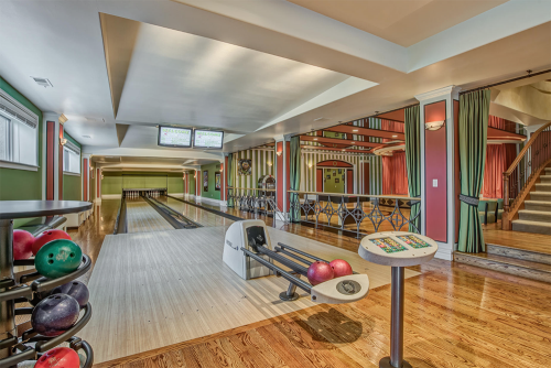 Homes for sale with bowling alleys