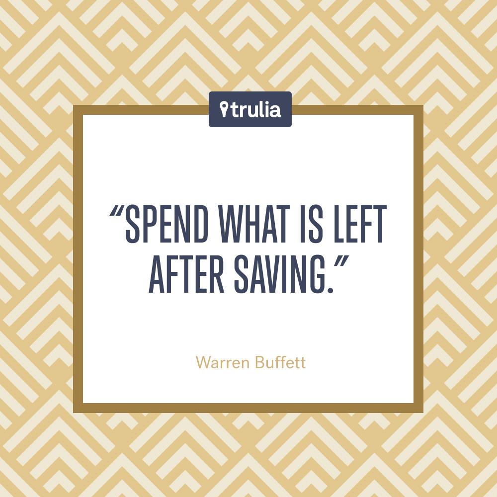 Motivational Quote Warren Buffett