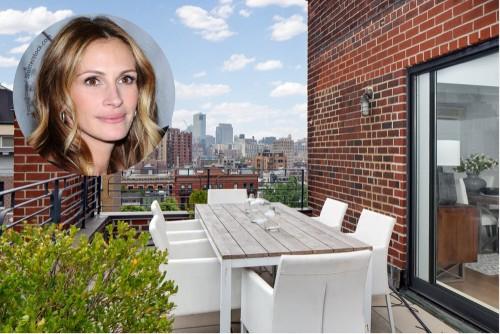 Julia Roberts Lists Apartment