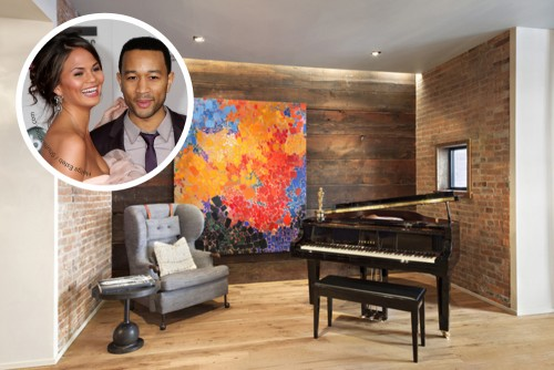 John Legend and Chrissy Teigen Home