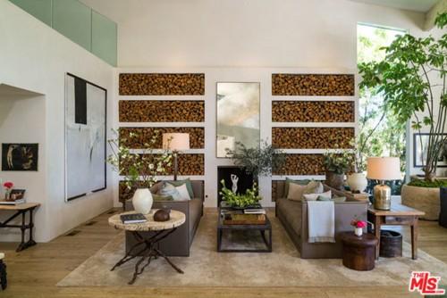 Patrick Dempsey Living Room