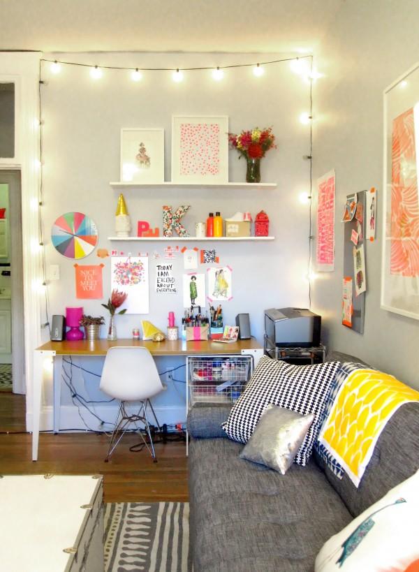 the glitter guide blog desk decorations