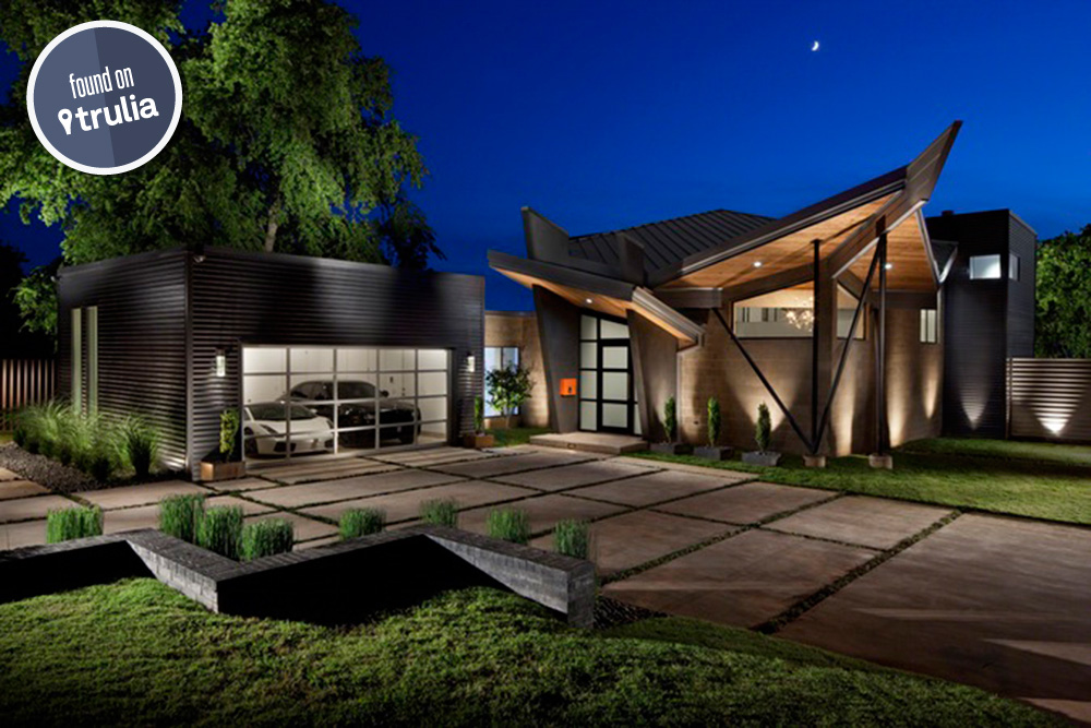 Found on trulia a contemporary home in oklahoma city