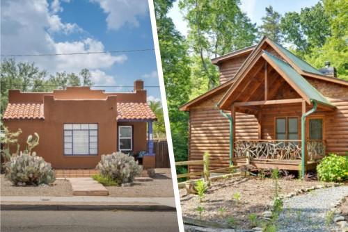 stucco starter home or treehouse lodge