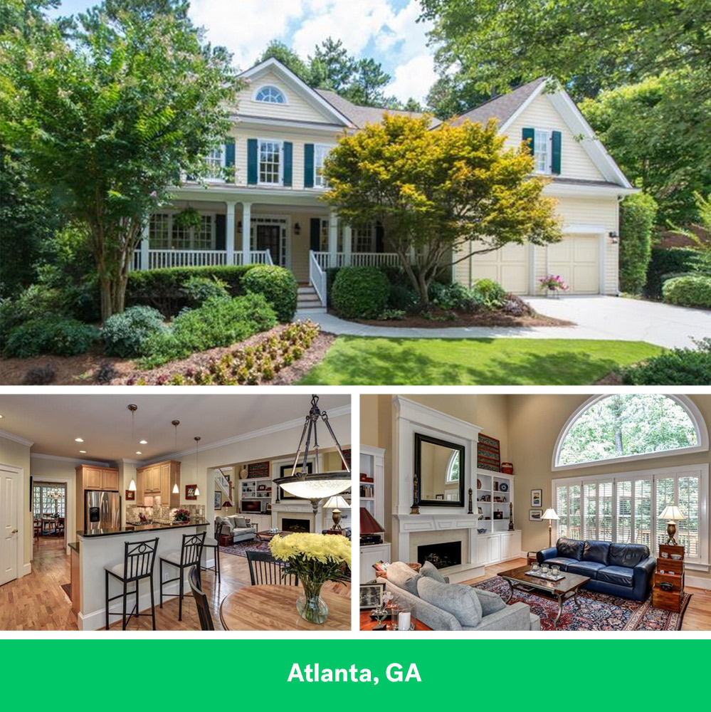 Home with 5K Monthly Mortgage in Atlanta