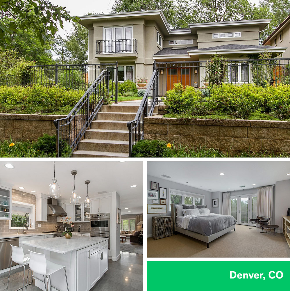 Denver Estate Sales: What $5K Monthly Mortgage Payments Buys In 6 U.S. Cities