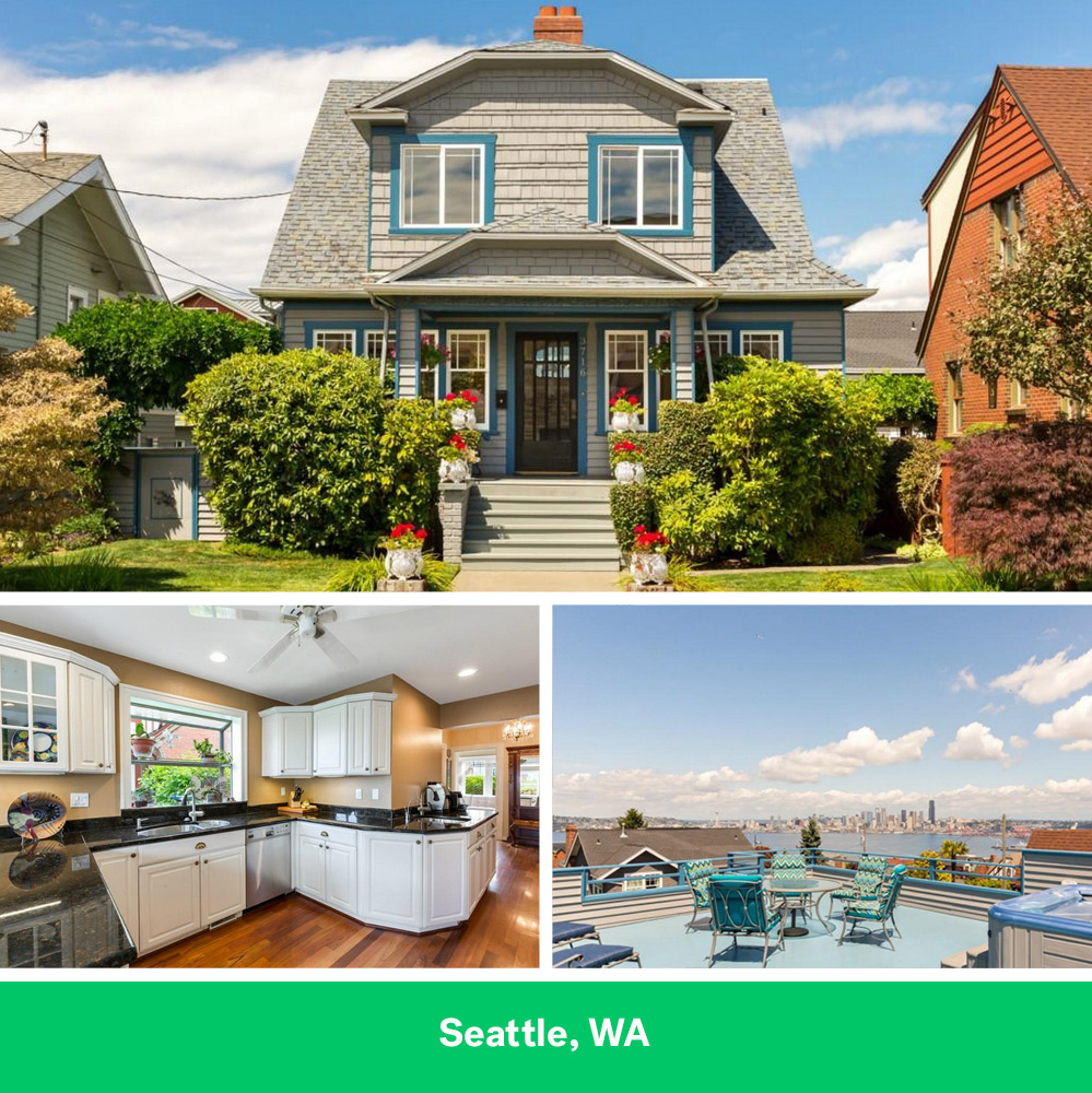 Seattle Home with 5K Monthly Mortgage