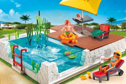 Playmobil Mansion Pool