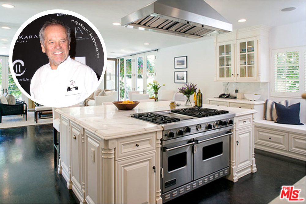 Chef Wolfgang Puck Selling Home in Beverly Hills - Celebrity ...