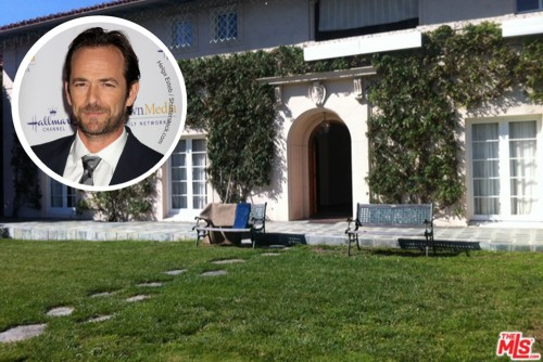 Luke Perry House Exterior