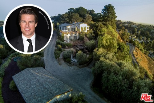 tom cruise house exterior