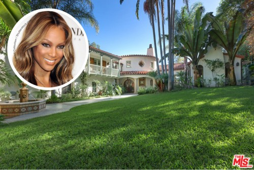 Tyra Banks Home
