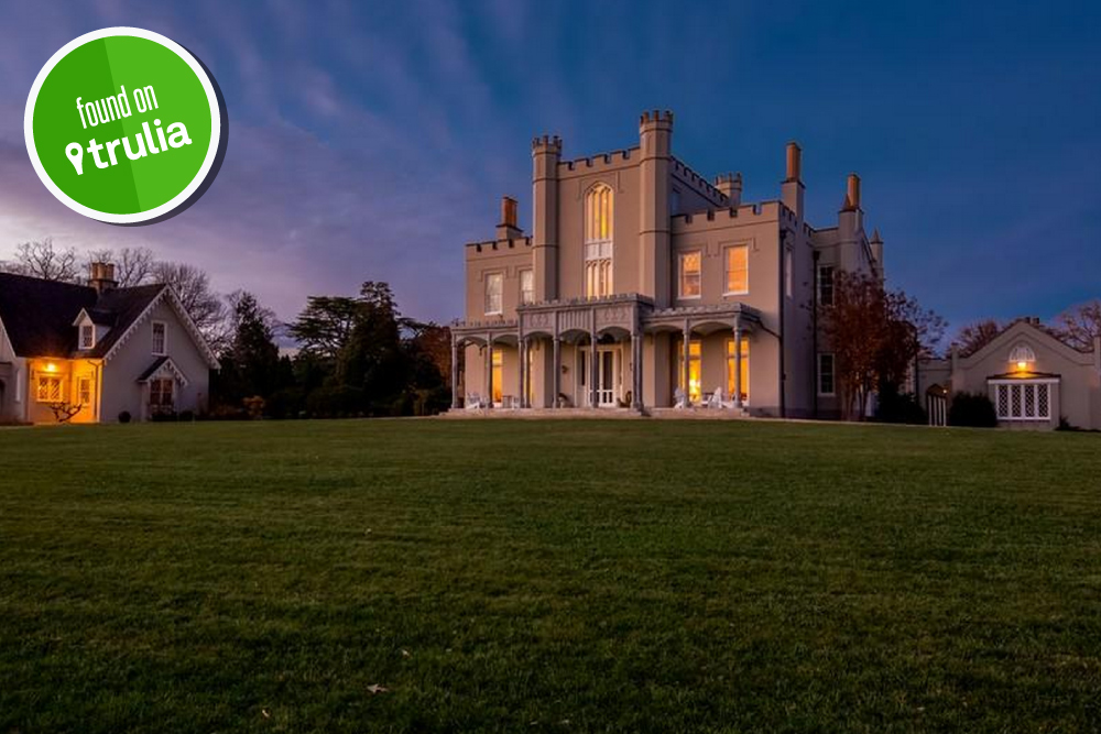 Found On Trulia A Gothic Revival Castle In Charlotte County VA