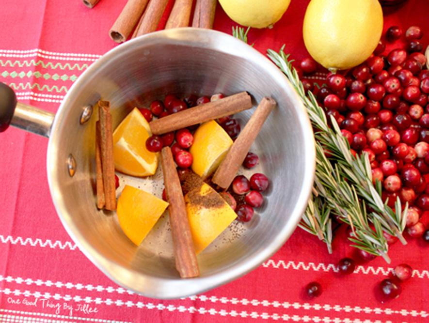Pot simmer homemade air freshener