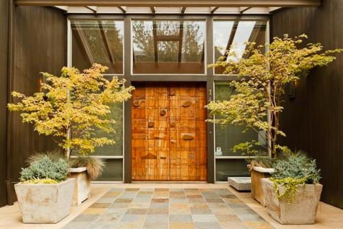 Portland Wood Door