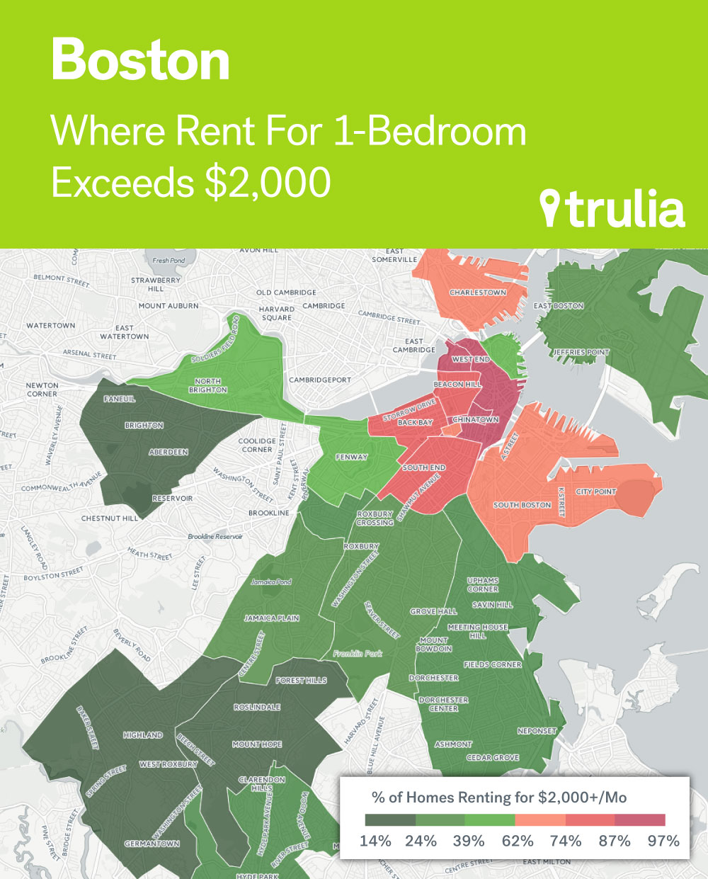 Where Rents Are Too Damn High Trulias Blog