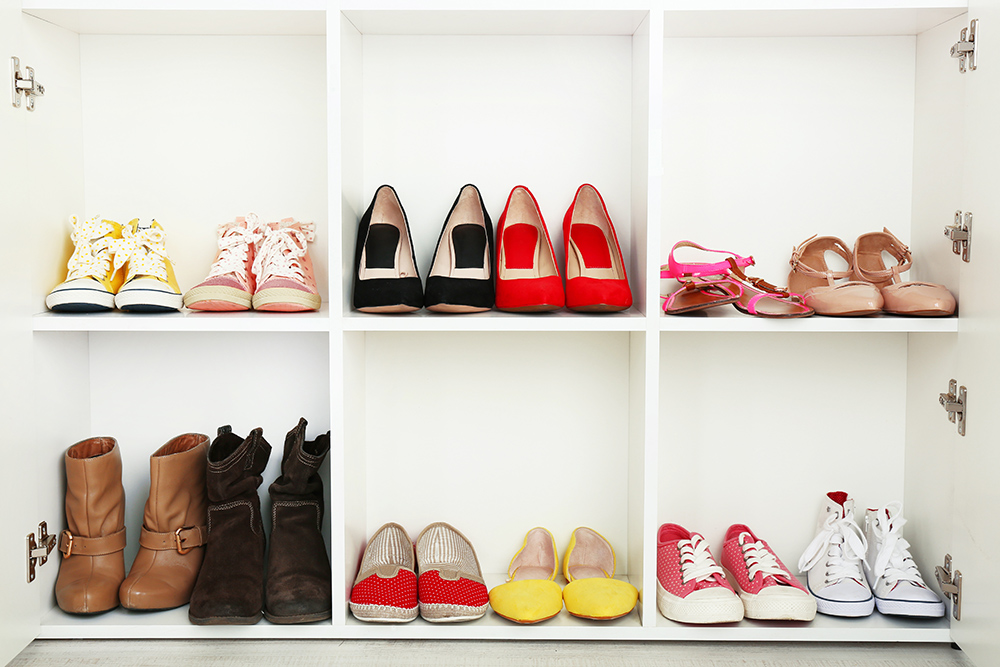 sneaky shoe storage solutions