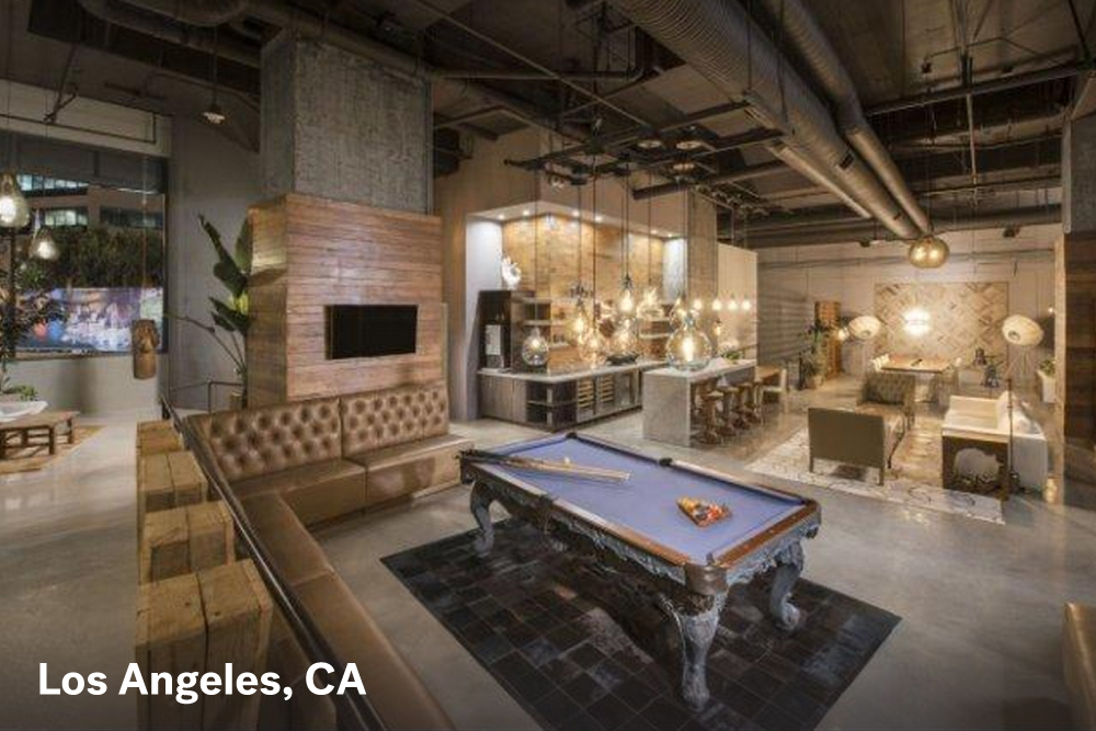apartment complexes with common areas