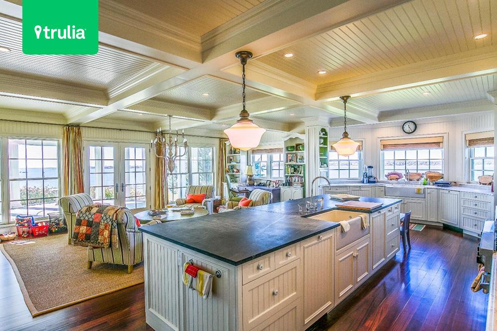 Kitchen design in Edgartown