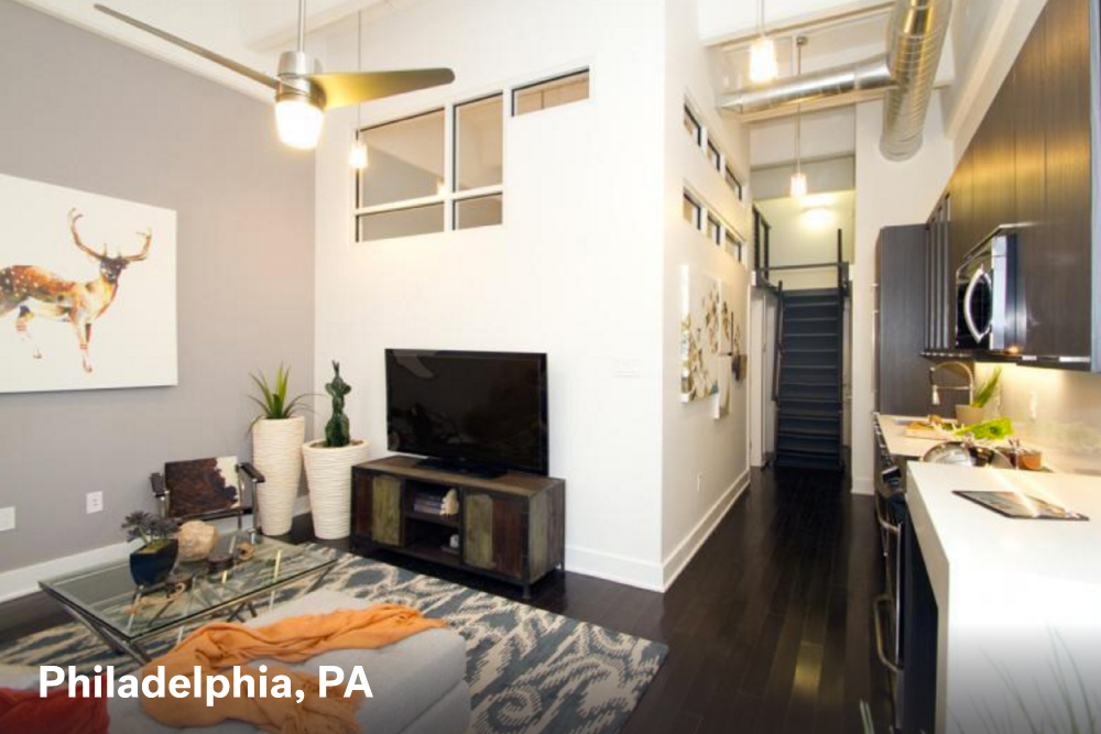 Philadelphia Studio Apartment