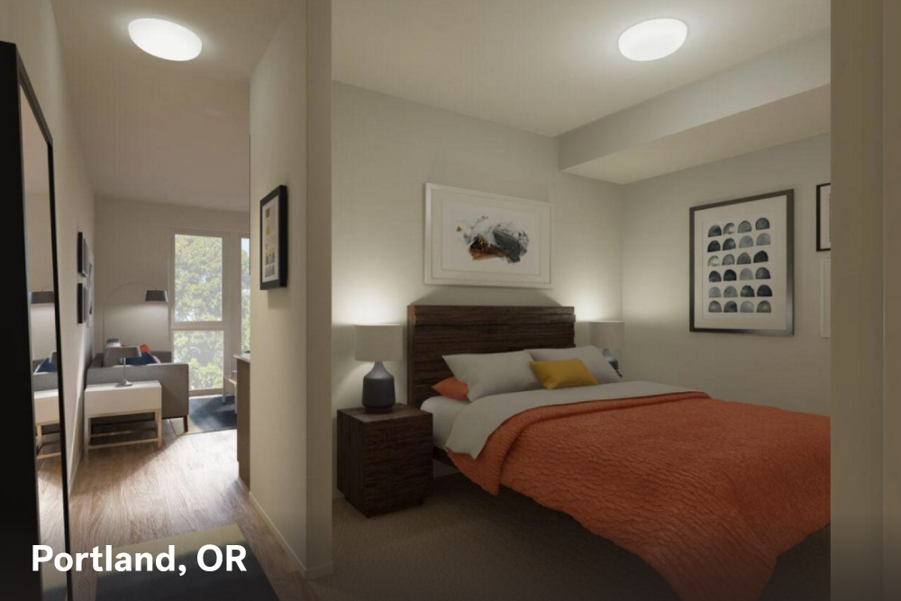 Portland Studio Apartment