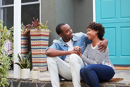 happy home-buyers