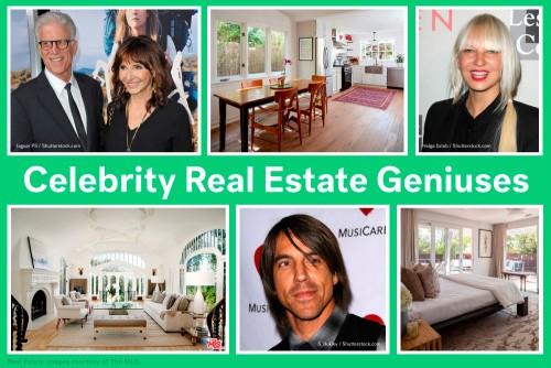 8 Celebrity Real Estate Geniuses