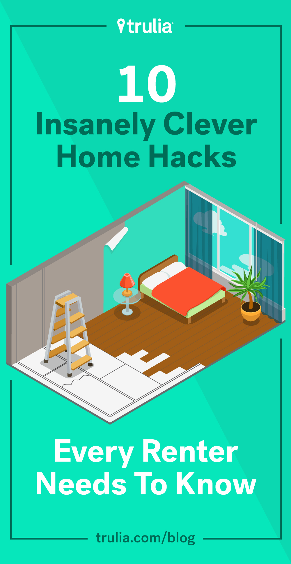10 Clever Diy Hacks Every Renter Needs To Know Life At Home Trulia Blog