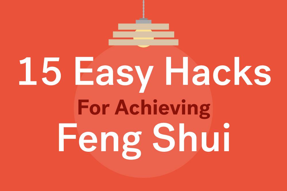 feng shui house hacks