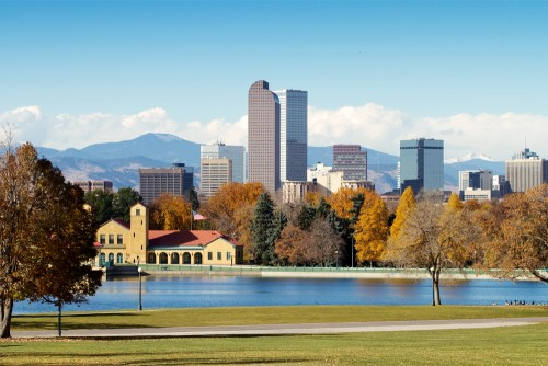 Denver Real Estate Skyline