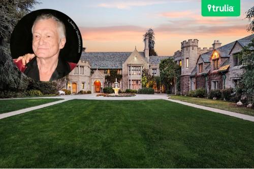 Hugh Hefner Playboy Mansion For Sale